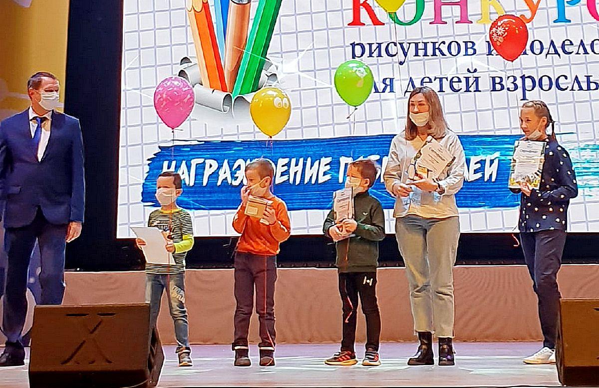 награждение победителей конкурса поделок, Чайковский, 2020 год